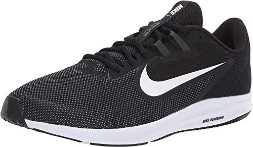 Nike Herren Downshifter 9 Laufschuhe, Schwarz (Black/White-Anthracite-Cool Grey 002), 44.5 EU