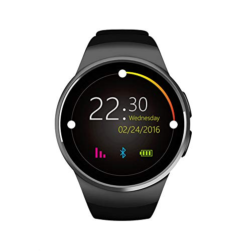 Smartwatches, Activity Tracker Pulsmesser für Android-Handy Touchscreen mit Kamera Bluetooth Watch Phone mit SIM-Karten-Slot Watch Phone Kompatibel mit Android Samsung Ios Phone