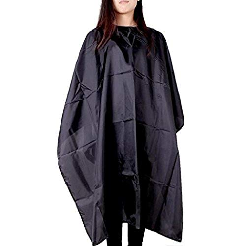 GDJGTA Barber Cape Unisex,Waterproof Professional Barber Cape, Salon Cape for Haircut,Washing Hairdressing Cape Tool