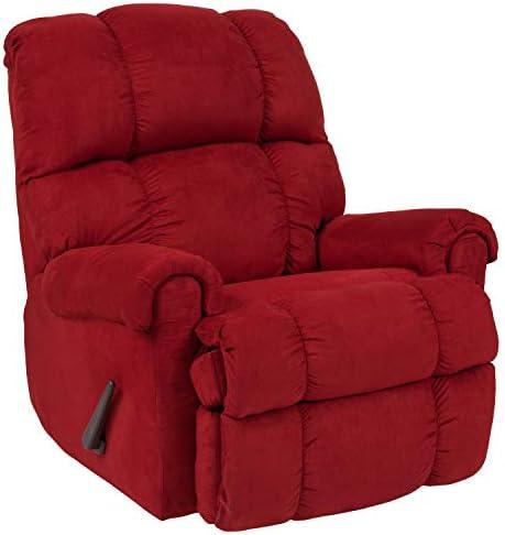 Best Flash Furniture Sierra Cardinal Microfiber Rocker Recliner