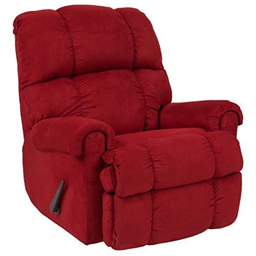 Flash Furniture Sierra Cardinal Microfiber Rocker Recliner
