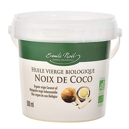 Emile Noël - Huile De Coco Vierge 500Ml Bio - Lot De 3 - Livraison Rapide En France - Prix Par Lot