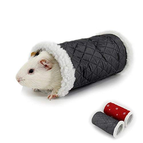 MYIDEA Guinea Pig Tunnel Playing Toys - Tube for Guinea Pigs, Hamsters, Sugar Glider,Hedgehog,Snakes, Lizards (for Guinea Pigs, Hamsters, Sugar Glider,Hedgehog, Tunnel -3 Way Gray)