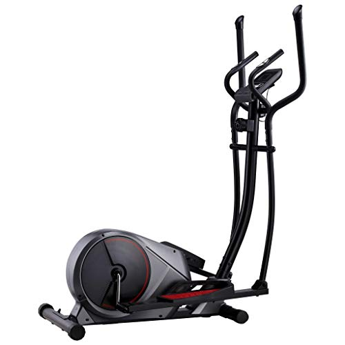 Tidyard Magnetic Elliptical Trainer with Pulse Measurement Exercise Bike Elliptical Cross Trainer with LED Display