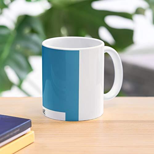 Color Blue Surf Shell 18 Hawaiian Pantone 4538 Universe Best 11 Ounce Ceramic Coffee Mug Gift
