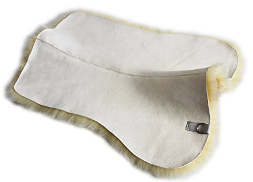 Förster-Fellnest Echt Lammfell Unterlage, Sattelunterlage für Ihre Schabracke, Satteldecke oder Sattelpad.