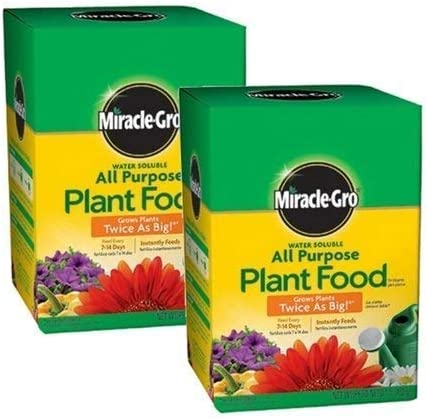 Miracle-Gro All Purpose 大放出セール Powder Plant Food of lb. 5☆大好評 2 Pack 1