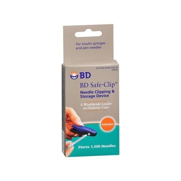 buy  BD Safe-Clip Needle Clipping & Storage Device ... Diabetes Care