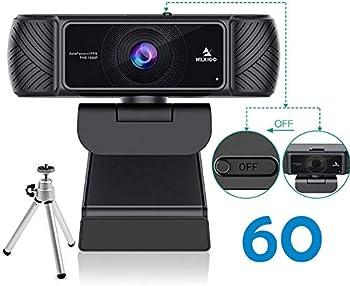 NexiGo 1080P 60FPS Webcam with Microphone