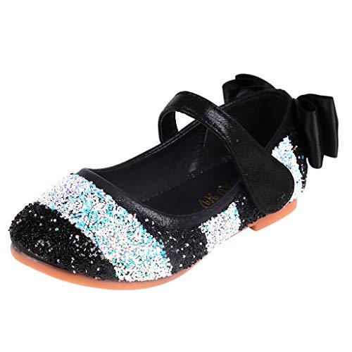 Bebé Niñas Bowknot Suela Suave Zapatos De Princesa Cristal Zapatos De Baile De Fiesta De Navidad Regalo De Primer Cumpleaños Lindo Zapatos Dulces