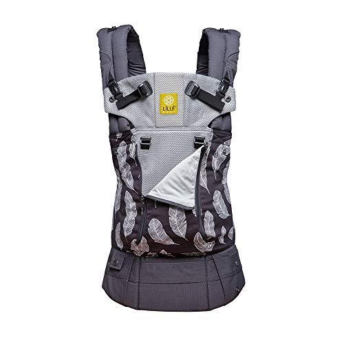 LÍLLÉbaby Complete All Seasons SIX-Position 360° Ergonomic Baby & Child Carrier, Birds of a Feather - Lumbar Support