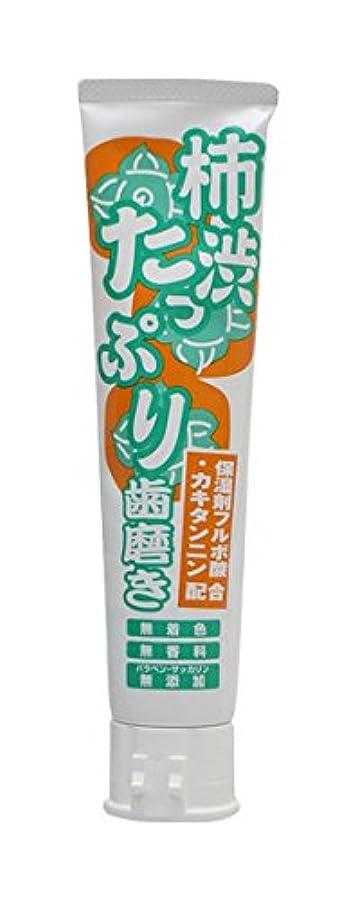 おとうさんいっぱい誓い柿渋たっぷり歯磨き 135g