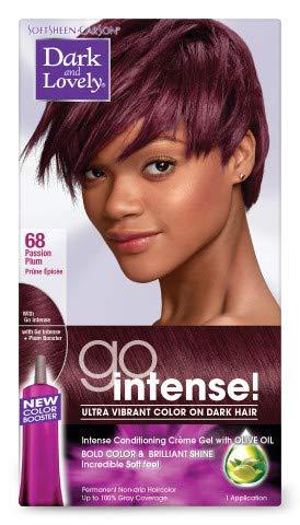 Dark & Lovely Dark And Lovely Go Hair Color 068 [Passion Plum] (Pack of 6)