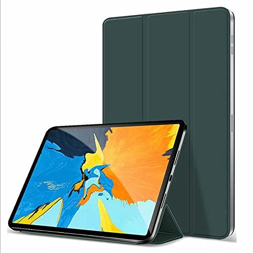 DIANXIA Funda Protectora Magnética para 2021 iPad Mini 6 Funda De 8,3 Pulgadas con Carga De Lápiz/Soporte Plegable Delgado/Soporta Touch ID, Compatible con La Nueva Funda De iPad Mini De 6ª,Verde