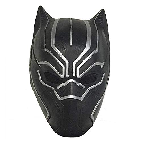 Partij van de maskerade masker, Hero Marvel Black Panther Mask Helm, Cosplay Music Festival Cool Maskers