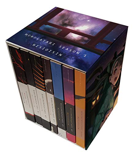 Compare Textbook Prices for MONOGATARI Series Box Set Season 1 Limited Edition ISBN 9781947194397 by NISIOISIN,Vofan