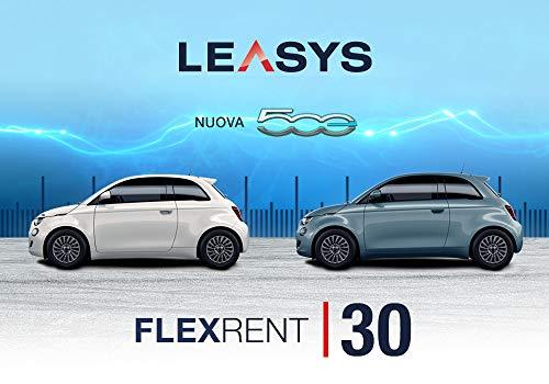 Pass offerta Leasys FlexRent 30. Noleggio auto di durata 30 giorni rinnovabili da oggi anche con Nuova Fiat 500 elettrica e Compass e Renegade PHEV