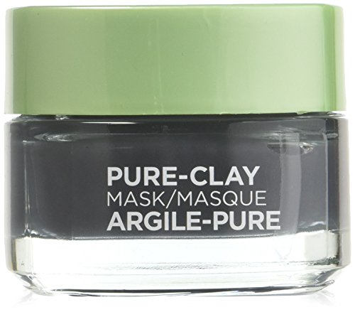 L'Oreal Skin Expert Detox & Brighten Pure Clay Mask, 1.7 Oz (Pack of 2)