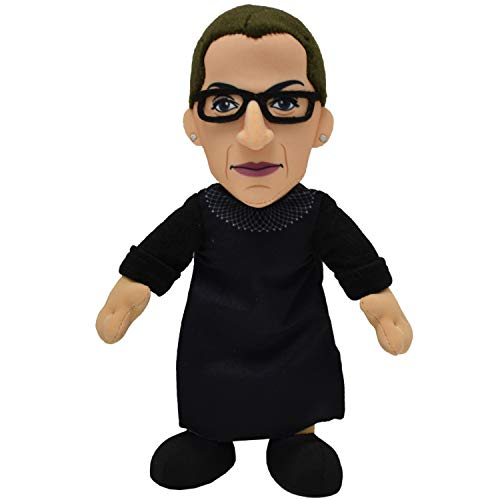 Bleacher Creatures Ruth Bader Ginsburg 10' Plush Figure- The RBG Icon for Play or Display