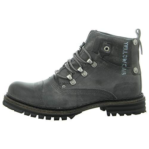 Yellow Cab Y15473 Sergeant 1-A - Herren Schuhe Boots/Stiefel - Dark-Grey, Größe:44 EU