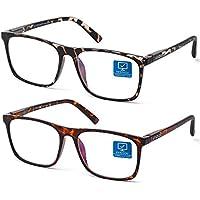 2-Pack Blue Light Blocking Computer Gaming Glasses