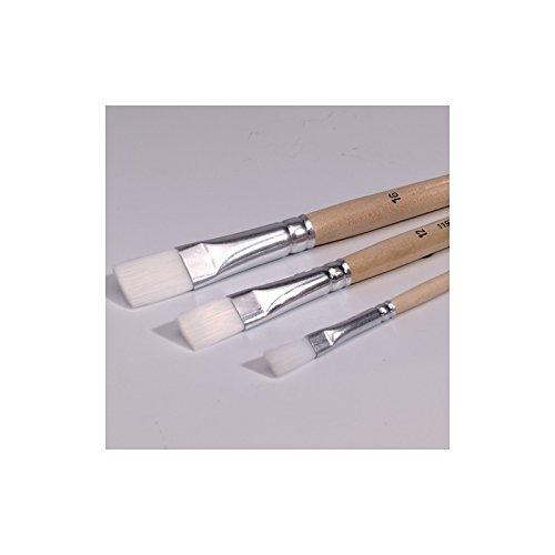 Efco Pinceau Plat Poils synthétiques Taille 16/16 mm