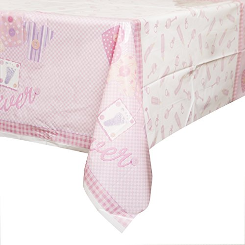 Party Savvy Nappe décorative pour baby shower Rose