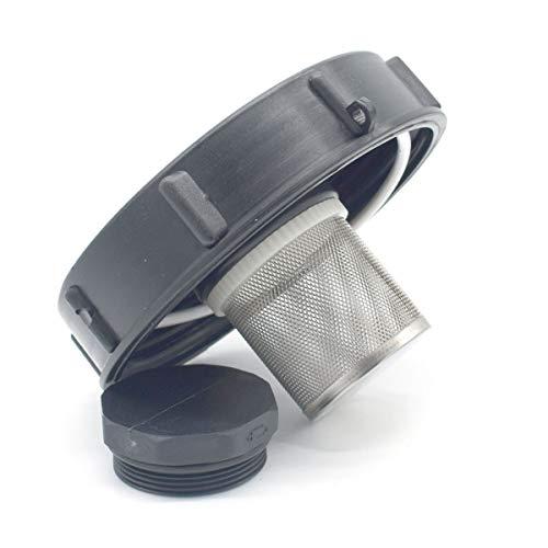 Multitanks - Couvercle diametre 15cm pour cuve IBC 1000 litres et filtre 2 pouces