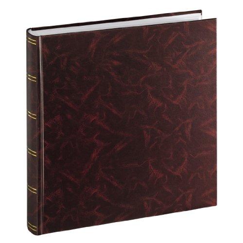 Hama Birmingham 00001748 - Album portafoto Super Jambo, 33 x 35/100 cm, colore rosso bordeaux