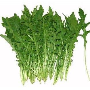 Keimungrate 99% Eruca sativa Samen, Italienisch Rucola Gemüse Samen - 50 Teilchen