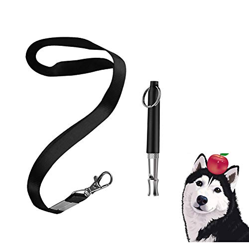 dog whistle with adjustable frequencies Poyakuk Dog Whistle with Adjustable Pitch Frequency for Bark Control and Obedience Training