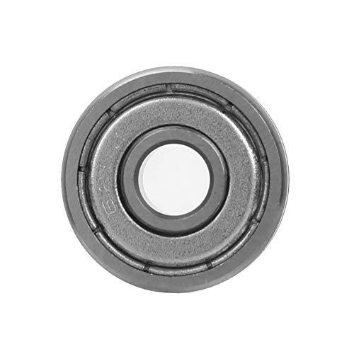 V Groove Bearings, Chacerls V Groove Bearings 10pcs V625ZZ V Groove Ball Bearing 90° Pulley Rail Track Bearings 5 * 16 * 5mm