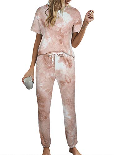 Tie Dye Printed Pajamas Set