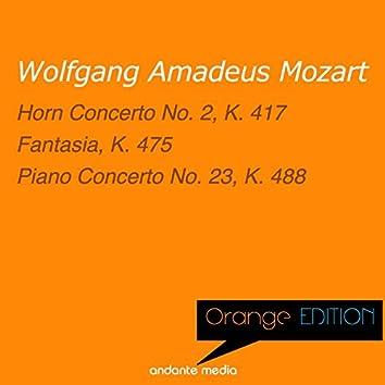 Orange Edition - Mozart: Horn Concerto No. 2, K. 417 & Piano Concerto No. 23, K. 488