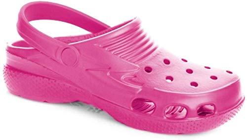 LEMIGO federleichte Kinder Eva Clogs LEMIGOOSE (35, pink)