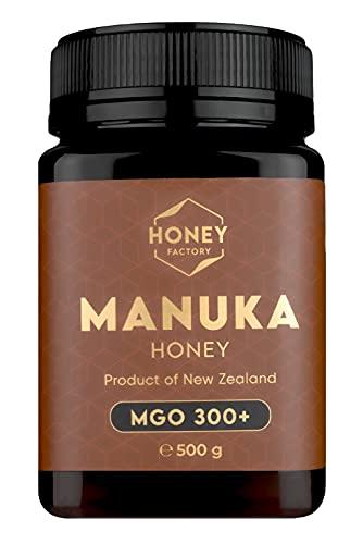 Honey Factory Manuka Honey 500g - MGO 300+ Quality Honey from New Zealand -...