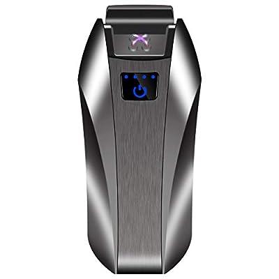 Kivors Plasma Arc Beam Lighter, USB Rechargeable Electric Windproof Arc Lighter Holiday Festive Gift - no Butane - splashproof - Flameless by P5-PFTJ-8JF6