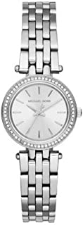 Michael Kors Petite Silvertone Darci Watch