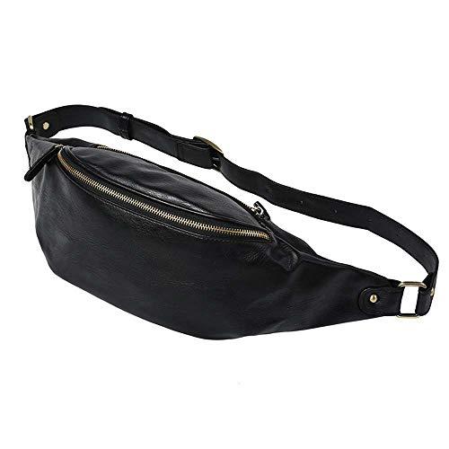 Formula motion Outdoor Multifunzione Sport Leg Canvas Bag della Vita del Sacchetto dei Soldi Cintura Pacchetto di Fanny,Nero