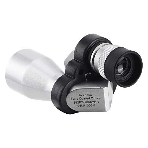 VBESTLIFE Pocket Binoculars Telescope 8X Mini Single Barrel para apreciar los paisajes naturales de los viajes de Birdwatching