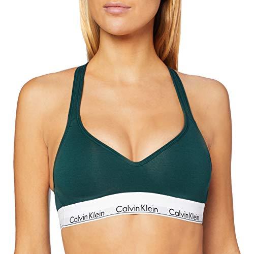 Calvin Klein Damen Bustier Bralette Lift BH, Grün (CAMP CP2), M