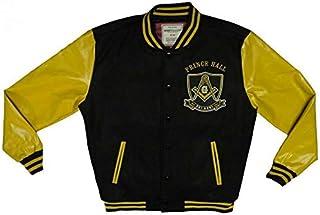 Prince Hall Freemasonry Freemason Fraternity Varsity Style Slightly Defective Mens Big & Tall Jacket PHA Mason