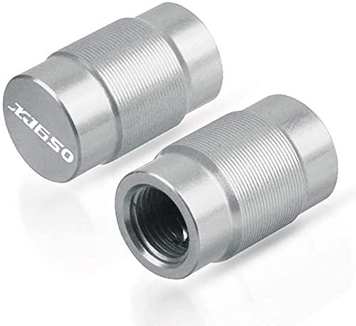 2 Piezas Tapas de Válvula de Neumático Moto de Aluminio para XJ650 XJ 650 Válvula Tapas Cubierta Tapa de Neumático Prueba de Polvo Accesorios