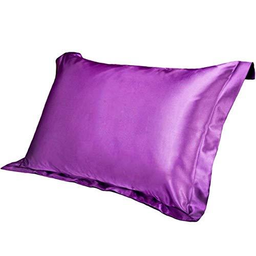 POMU Zijde Satijn Kussensloop Voor Bed Stoel Comfortabele Pure Emulatie Kussensloop Stoel Stoel