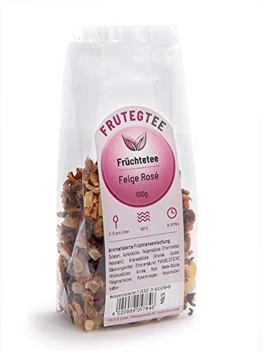 Früchtemischung Feige Rosé mit Mandeln | 100g | Früchtetee