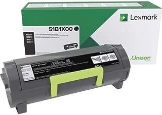 Lexmark 51B1X00 MS517dn MX517de MS617dn MX617de Extra High Yield Return Program Cartridge Toner