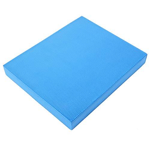 Changor Estera de Yoga, meditación de Yoga Suave Alforfón de alforfón de Trigo Fitness Hecho de TPE amigable con el Medio Ambiente 33 x 40 x 5 cm (Azul)