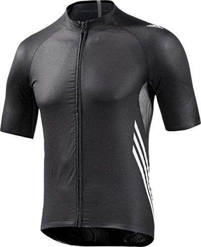 adidas Adizero SS Jersey Men black/white Größe XL 2016 Trikot kurzärmlig