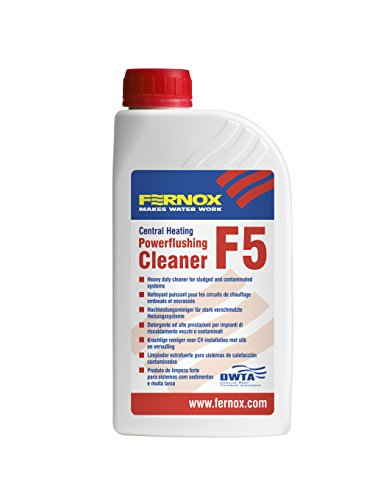 Fernox 56608 F5 Powerflushing-Reiniger, 1 Liter