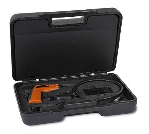 """Trebs Comfortcam 22119 Endoskop mit flexiblem Schwanenhals und integrierter wasserdichter Kamera, 2,2\"""" Monitor, inkl. Batterien, drinnen und draußen verwendbar"""
